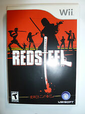 Red Steel for Nintendo Wii sword combat action video game martial arts Ubisoft