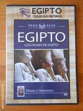 DVD EGIPTO: LOS DIOSES DE EGIPTO - DIOSES Y DEMONIOS - CAJA SLIM (O5)