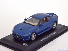 1:43 White Box Maserati Gran Turismo MC Stradale 2013 bluemetallic