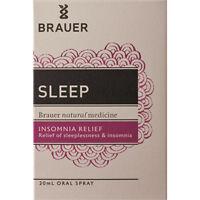 Brauer Sleep Insomnia Relief Oral Spray 20ml Homoeopathics
