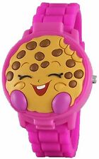 "Shopkins Girl's ""Kooky Cookie"" 3D Pink Digital Watch with Pop-Up Feature ~ NEW"