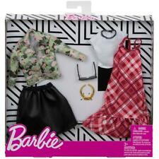 Barbie Camo-Floral Plaid Outfit Fashion Pack with Accessories FXJ60 NEW