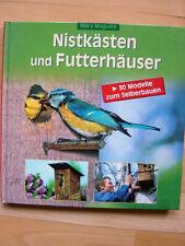Bastelbuch neu Nistkästen Futterhäuser Vogelhaus selber bauen Nistplatz Marguire