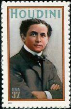 2002 37c Harry Houdini, Magician Scott 3651 Mint F/VF NH
