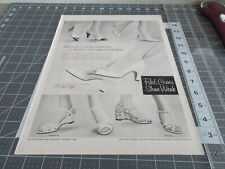1957 The United States Shoe Corp. Red Cross Shoe Week Print Ad