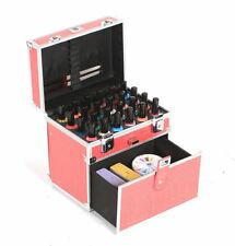 Urbanity nail polish varnish bottle beauty cosmetic makeup vanity case box pink