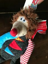 Kong Patches Large Possum Squeaks Dog Multi-Textured Plush Toy - New Other