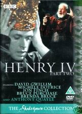 Henry IV Part Two - BBC Shakespeare Collection - Regions 2 + 4 - New - Sealed