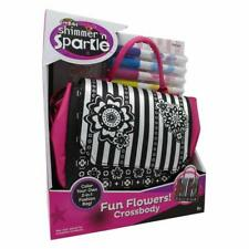 Cra-Z-Art  Shimmer 'n Sparkle Fun Flowers Crossbody