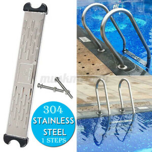 Replacement Swimming Pool Ladder Pedal Pedal Stainless Steel Ladder Stairs Step