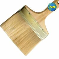 "6"" Plasterers Splash Brush with Wooden Handle - Trowel Plastering Water Brushes"