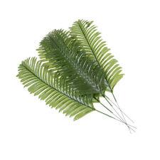 5pcs Lifelike Green Palm Branch Leaves Wedding Party Home Decor 38cm  Pip BIYK