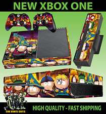 XBOX ONE CONSOLE STICKER SOUTH PARK STICK OF TRUTH CARTMAN SKIN & 2 PAD SKINS