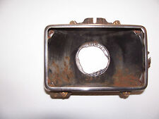 1985 LINCOLN CONTINENTAL HEADLIGHT BUCKET TRIM RING BEZEL OEM USED LEFT or RIGHT