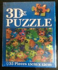 35 Pieces Puzzle 3d FX Refracting Jigsaw