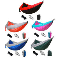 Outdoor Backyard Leisure Hanging Swing Chair Bed Camping Hunting Hammock #JT1