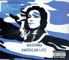 MADONNA - AMERICAN LIFE CD 2 (U.S. PRESSING 3 TRK 1 MAXI-CD W/BLUE STICKER)