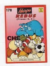 figurina card - HARPO MASTER CARDS  - numero 178