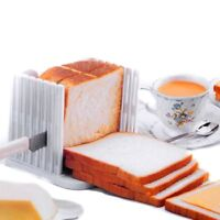 Bread Slice Sanwich Toast Slicer Guide Cutter Slicing Cutting Sheet Kitchen Tool