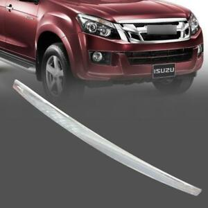 For ISUZU D-max Dmax 2012-2014 Chrome Front Line Bonnet Hood Trim
