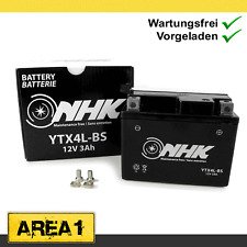 Wartungsfreie Batterie 3Ah Adly / Her Chee Rapido 50, AirTec 50 LC (YTX4L-BS)