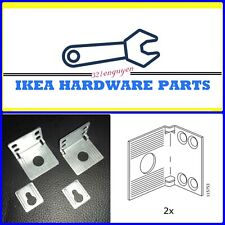 TWO 2X IKEA PAX Kallax & Other Furniture Wall Mount Bracket Set(115753, 103693)