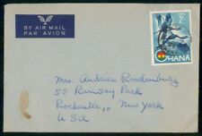 Mayfairstamps GHANA COMMERCIAL 1964 COVER ACCRA TO ROCHESTER NY USA wwh22801