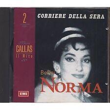 MARIA CALLAS 2 - Bellini Norma - CD EDITORIALE USATO OTTIME CONDIZIONI