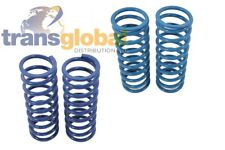 "Land Rover Defender 90 +2"" / 50mm Lift Bearmach Blue Front & Rear Coil Springs"