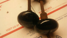 Vintage 3  black 1 brown  door Knobs