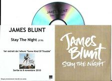 CD PLASTIC SLEEVE COLLECTOR JAMES BLUNT 1T STAY THE NIGHT MADE IN FRANCE