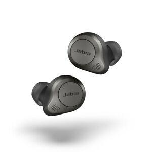 Jabra Elite 85t In-Ear Kopfhörer titanium schwarz Advanced Active Noise IPX4