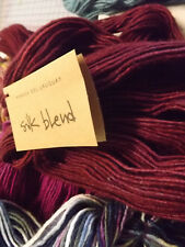 Manos Del Uruguay Silk / Extrafine Merino Hand Dyed - 50g #2150 Bing Cherry