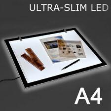 A4 LED Ultra Art Craft Drawing Tracing Tattoo Light Box Pad Board Lightbox AU