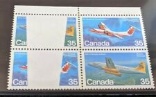 Air Avro Canada de Haviland Dash 7 Missing Area Colour ERROR Stamps Canadian