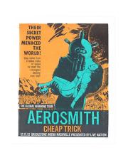 12 AEROSMITH CHEAP TRICK NASHVILLE SCI-FI 50'S PIN-UP GIRL CONCERT POSTER 12/13