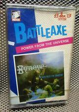 BATTLEAXE Power From Universe cassette tape NWOBHM Chopper Attack import 1984 UK