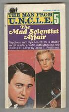 Man From U.N.C.L.E. #5 VG 1966 The Mad Scientist Affair