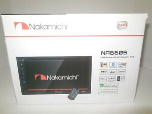 For Nissan Altima 2000-2018 Apple Carplay Android Navigation NAKAMICHI NA6605