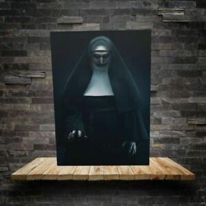 "Conjuring The Nun (Demon Valak Nun) canvas print 18""x30"" FRAMED & MADE TO ORDER"