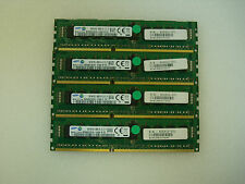 16GB Kit 4xSamsung 4GB DDR3 PC3 10600R 09-10-C1 ECC 1333MHz M393B5270CH0-YH9 CL9
