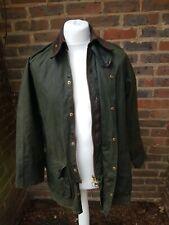 Men's Barbour Classic Beaufort Wax Cotton Jacket  Olive Vintage Size C36/91cm