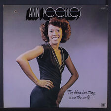 ANN PEEBLES: The Handwriting Is On The Wall LP (drill hole) Soul
