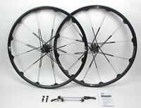 "NEW Crank Brothers Cobalt 3 Wheelset 26"" 135x10 100x9 Tubeless Blk/Slv $900 Ret."