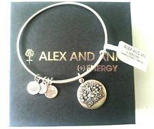 Alex and Ani Queen's Crown Charm II Bangle Bracelet NWT BOX RETIRED RARE