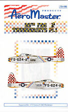 Aero Master F-84 Thunderjet Decals 1/72 for Tamiya Monogram Revell Hasegawa Kits