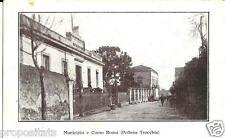 cm 039 1937 POLLENA TROCCHIA (Napoli)  Municipio e corso Roma - viaggiata FP
