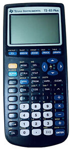 Texas Instruments TI-83 Plus Graphing Calculator Great Condition Tested Works🔥