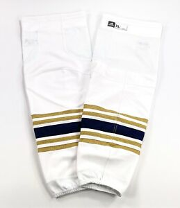 Pro Stock Pro Return adidas Buffalo Sabres 50th Anniversary Large Hockey Socks