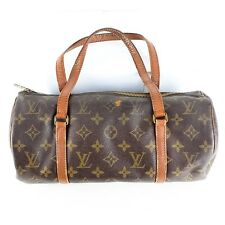 Auth LOUIS VUITTON Papillon 30 Hand Bag Purse Monogram M51385 Brown